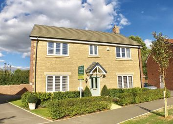 Thumbnail 4 bed detached house for sale in Polesdon Avenue, Coate, Swindon