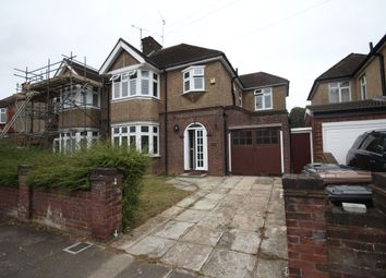 Thumbnail 3 bedroom semi-detached house to rent in Fountains Road, Luton