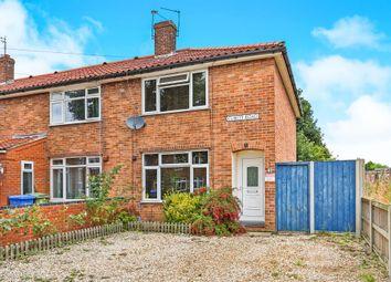 Thumbnail 3 bedroom end terrace house for sale in Cubitt Road, Norwich