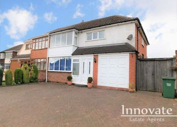 Thumbnail 4 bed semi-detached house to rent in Fairbourne Avenue, Rowley Regis