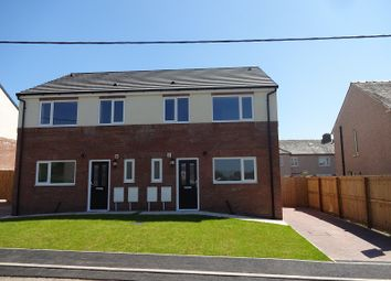 Thumbnail 3 bed semi-detached house for sale in Plot 1 Mossknowe Place, Gretna, Dumfries And Galloway.