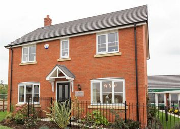 "Thumbnail 4 bed detached house for sale in ""The Chedworth"" at Dovehouse Drive, Wellesbourne, Warwick"