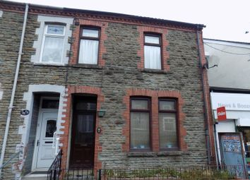 Thumbnail 3 bed terraced house to rent in Mill Road, Caerphilly