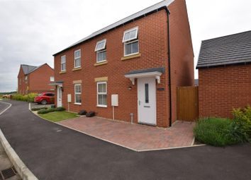 Thumbnail 3 bed semi-detached house for sale in Songthrush Road, Bodicote, Banbury