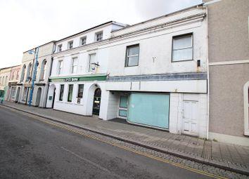 Thumbnail Commercial property to let in Dimond Street, Pembroke Dock, Pembrokeshire.