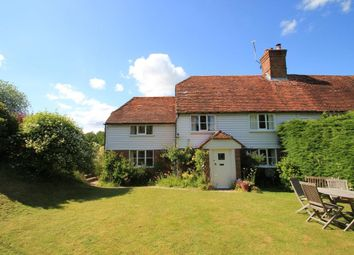 Thumbnail 4 bed semi-detached house for sale in Attwaters Lane, Hawkhurst, Cranbrook, Kent