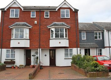 Thumbnail 4 bed terraced house to rent in Tappers Close, Topsham, Exeter