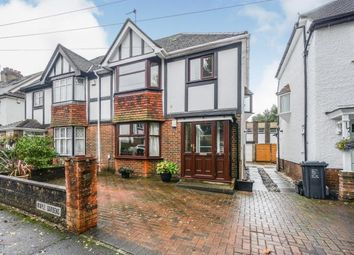 Thumbnail 3 bed semi-detached house for sale in Maple Gardens, Hove, East Sussex