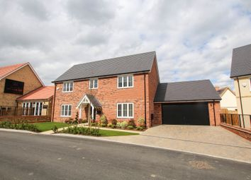 Thumbnail 4 bed detached house for sale in Meadowsweet Way, Newport, Saffron Walden