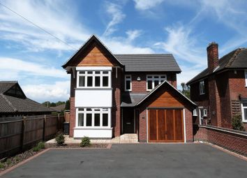 Thumbnail 4 bed detached house to rent in Broom Leys Road, Coalville