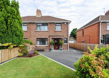 Thumbnail 3 bed semi-detached house for sale in Abbey Gardens, Stormont, Belfast