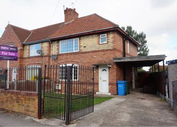 Thumbnail 3 bed end terrace house for sale in Suffolk Road, Doncaster