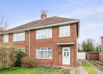 Thumbnail 3 bed semi-detached house for sale in New Village Road, Cottingham