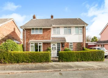 Thumbnail 4 bed detached house for sale in Peacocks Close, Cavendish, Sudbury