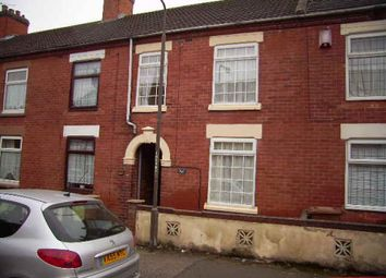 Thumbnail 3 bed terraced house to rent in Regent Street, Church Gresley, Swadlincote