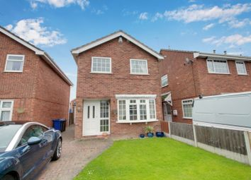 Thumbnail 3 bed detached house for sale in Greenacres Drive, Uttoxeter, Staffordshire
