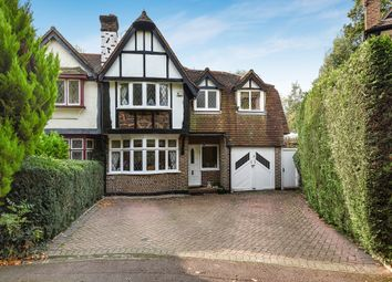 Thumbnail 4 bed semi-detached house for sale in Orchard Close, Edgware