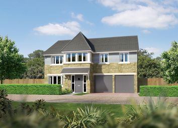 "Thumbnail 5 bed detached house for sale in ""Noblewood"" at East Calder, Livingston"