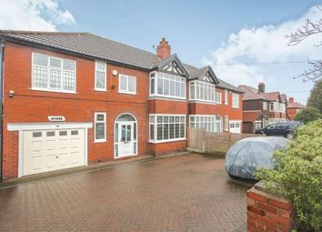 Thumbnail 4 bed semi-detached house for sale in Macclesfield Road, Hazel Grove, Stockport, Cheshire