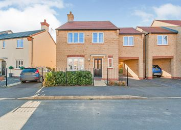 Thumbnail 4 bed detached house for sale in Rowell Way, Sawtry, Huntingdon