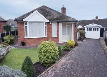 Thumbnail 3 bed detached bungalow for sale in Delamere Grove, Trentham, Stoke-On-Trent, Staffordshire