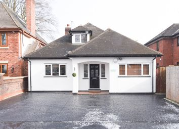 Thumbnail 4 bed detached bungalow for sale in Walsall Road, Four Oaks, Sutton Coldfield