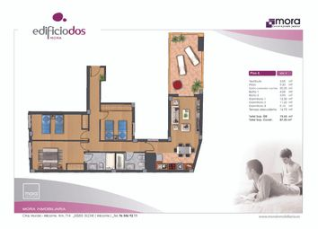 Thumbnail 3 bed penthouse for sale in Calle Leandro Soler Roman 03206, Elche, Alicante