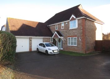 Thumbnail 4 bed detached house for sale in Culverin Close, Thorpe St Andrew, Norwich