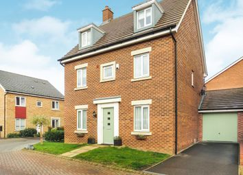 Thumbnail 5 bedroom detached house for sale in Fortuna Drive, Peterborough