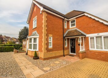 Thumbnail 4 bed detached house for sale in Wertheim Way, Huntingdon