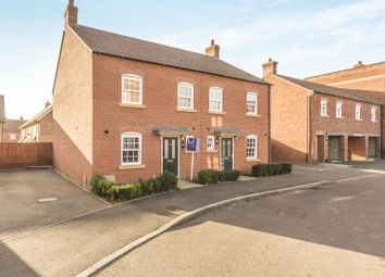 Thumbnail 3 bed semi-detached house to rent in Stedeham Road, Great Denham, Bedford