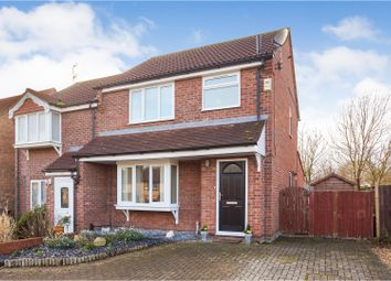 Thumbnail 3 bed semi-detached house for sale in Heathfield Avenue, Branston