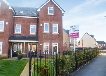 Thumbnail 4 bed semi-detached house for sale in Lescar Road, Waverley, Rotherham