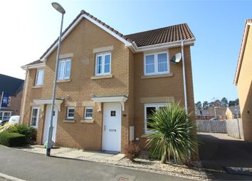 Thumbnail 3 bed semi-detached house for sale in Riverside Drive, Llanfoist, Abergavenny, Monmouthshire