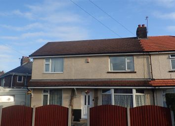 Thumbnail 4 bed semi-detached house for sale in Chisnall Avenue, St. Helens