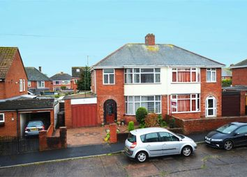 Thumbnail 3 bed semi-detached house for sale in Stratford Avenue, Exeter, Devon