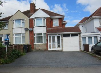 Thumbnail 3 bed semi-detached house for sale in Jacey Road, Shirley, Solihull