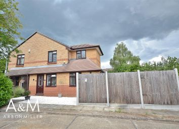 Thumbnail 2 bed semi-detached house for sale in Bernards Close, Ilford