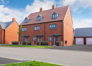 "Thumbnail 4 bedroom end terrace house for sale in ""Helmsley"" at Halse Road, Brackley"