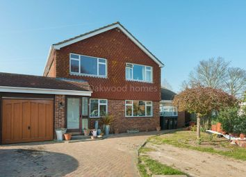Thumbnail 4 bed detached house for sale in Whiteness Green, Kingsgate, Broadstairs