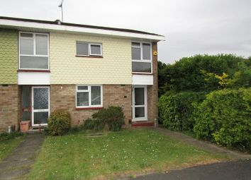 Thumbnail 2 bed end terrace house for sale in Markhams Chase, Basildon, Essex.