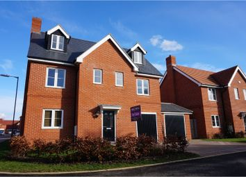 Thumbnail 5 bed detached house for sale in Morgan Drive, Aylesbury