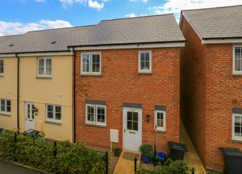 Thumbnail 3 bed end terrace house for sale in Younghayes Road, Cranbrook, Exeter