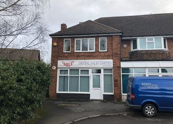 Office to let in Old Lode Lane, Solihull B92