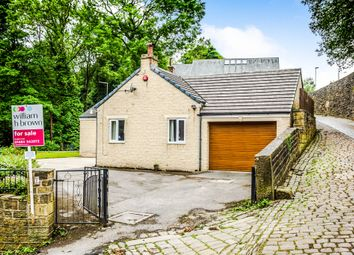Thumbnail 4 bedroom detached bungalow for sale in Station Road, Slaithwaite, Huddersfield