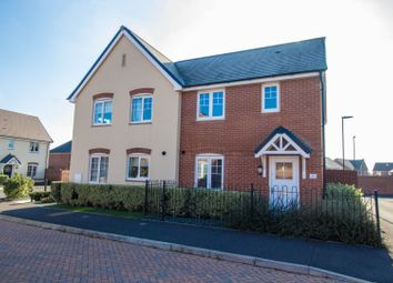 Thumbnail 3 bed semi-detached house for sale in Woolwich Way, Andover
