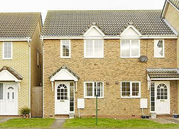 Thumbnail 2 bedroom terraced house to rent in Moat Way, Swavesey, Cambridge