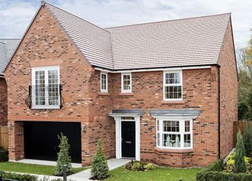 "Thumbnail 4 bed detached house for sale in ""Shelbourne"" at Adlington Road, Wilmslow"