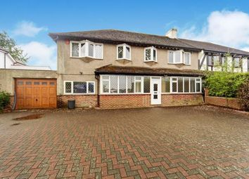 Thumbnail 5 bed semi-detached house for sale in Little Woodcote Lane, Purley, Surrey