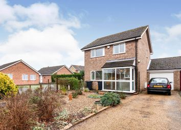 Thumbnail 3 bed detached house for sale in Messenger Close, Bungay